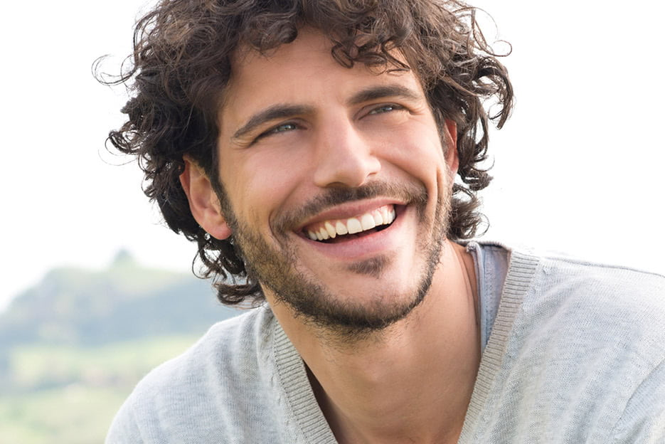 Man Smiling after BOTOX at Kalos Medical Spa in Fort Worth