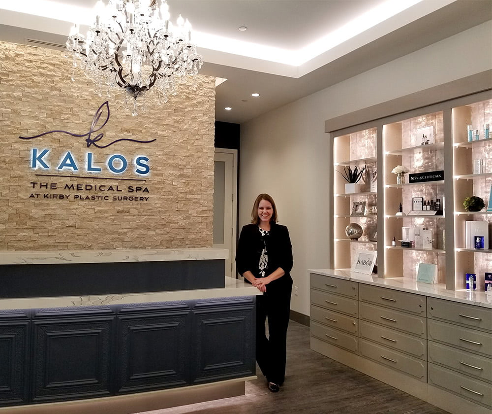 dr emily kirby at kalos medical spa fort worth shops at clearfork